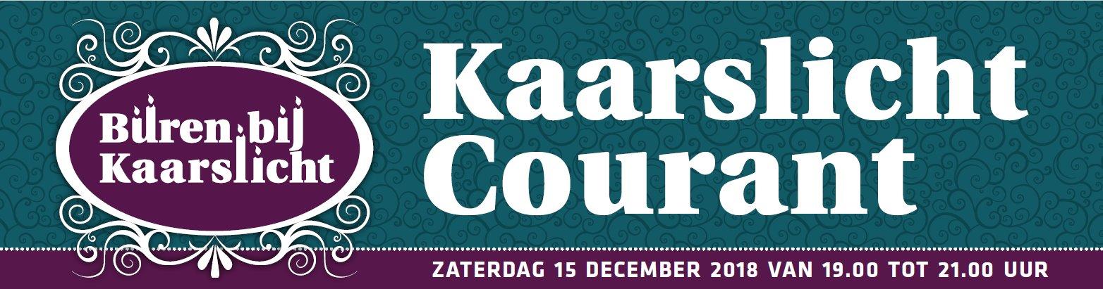 Buren Bij Kaarslicht Courant 2018