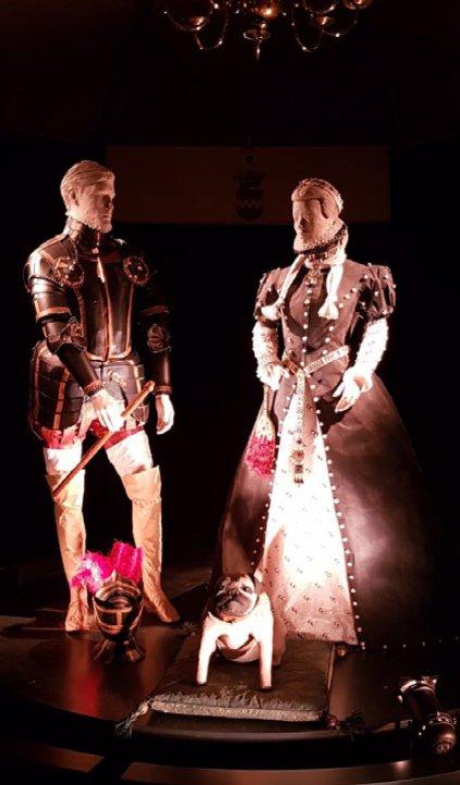 Willem van Oranje en Anna van Egmond
