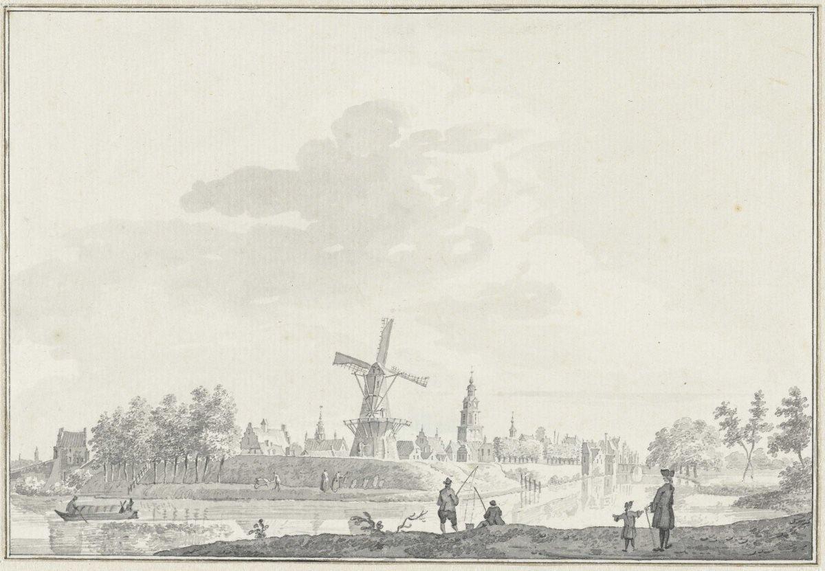 Molen Buren - Anno 1750 - Pieter Jan van Liender