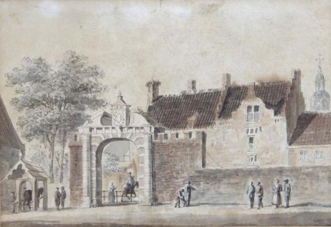 Huijse poort te Buren, Hendrik Spilman 1757